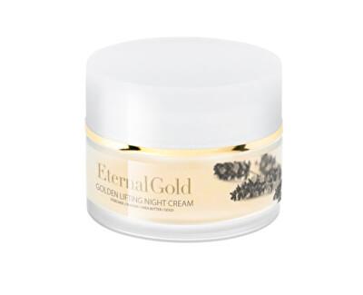 Cremă de noapte antirid pentru piele uscată și sensibilă Eternal Gold (Lifting Night Cream) 50 ml