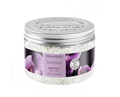 Sare de baie relaxantă Orchid neagră (Bath Salt) 600 g