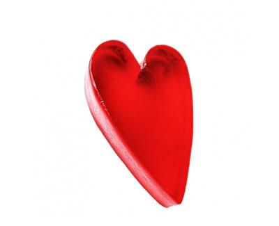 Săpun solid cu glicerină în formă de inimă (Glycerine Soap) săpun cu (Glycerine Soap) 60 g