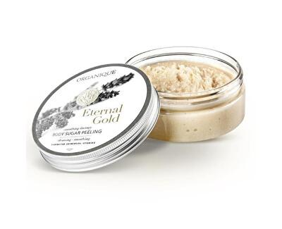 Netezirea peelingului corpului de zahăr Gold etern ( Body Sugar Peeling) 200 g