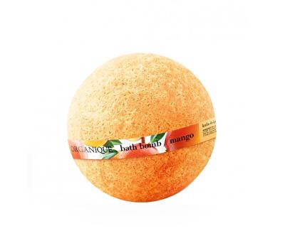 Bombă de băi spumoasă hrănitoare Mango (Bath Bomb) 170 g
