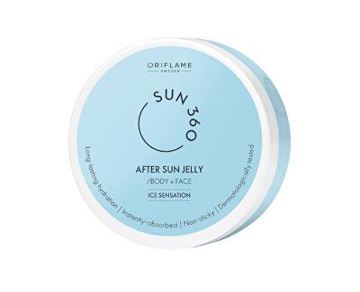 Gel după bronzare pentru față și corp Sun 360 (After SunBody + Face Jelly) 150 ml