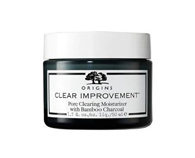 Cremă hidratantă împotriva manifestărilor de acnee Clear Improvement ™ (Pore Clearing Moisturizer With BambooCharcoal ) 50 ml