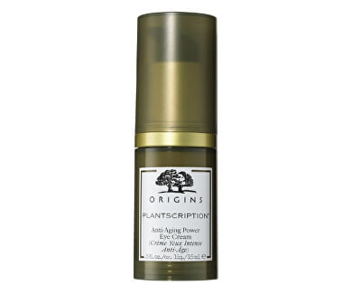 Feuchtigkeitsspendende Anti-Falten-Augencreme Plantscription™ (Anti-Aging Power Eye Cream) 15 ml