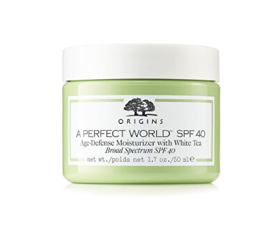 Cremă hidratantă cu ceai alb A Perfect World ™ SPF 40 (Age-Defense Moisturizer With White Tea) 50 ml