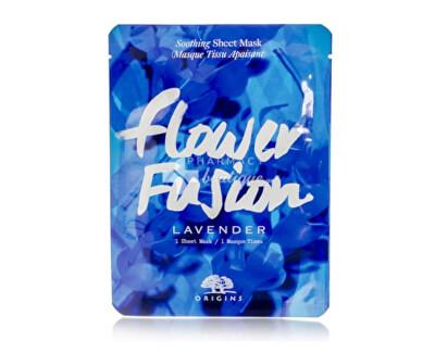 Plátýnková maska pro hydrataci pleti Levandule Flower Fusion (Hydrating Sheet Mask) 1 ks