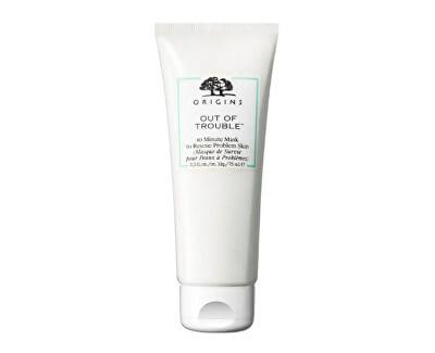 Pleťová maska pro mastnou a problematickou pleť Out of Trouble™ (10 Minute Mask To Rescue Problem Skin) 75 ml