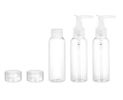 Cestovní sada lahviček na kosmetiku (Travel Containers Set) 5 ks