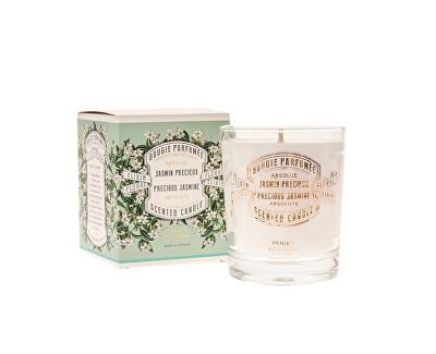 Panier des Sens Dekorativní vonná svíčka ve skle Jasmín (Scented Candle) 180 g
