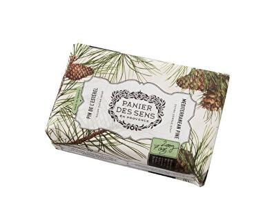 Panier des Sens Extra jemné přírodní mýdlo s bambuckým máslem Borovice (Extra Gentle Soap) 200 g