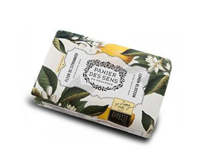 Panier des Sens Extra jemné přírodní mýdlo s bambuckým máslem Citrónové květy (Extra Gentle Soap) 200 g
