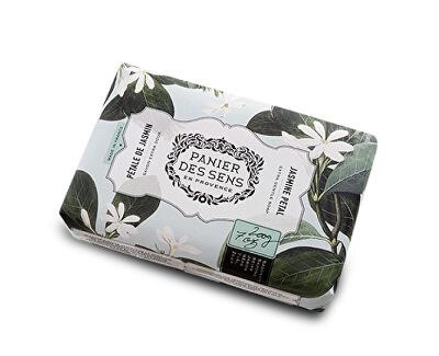 Panier des Sens Extra jemné přírodní mýdlo s bambuckým máslem Jasmínové plátky (Extra Gentle Soap) 200 g
