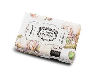 Panier des Sens Extra jemné přírodní mýdlo s bambuckým máslem Květy bavlny (Extra Gentle Soap) 200 g