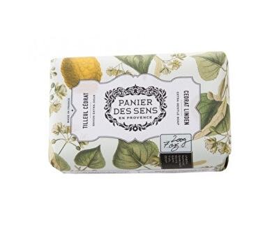 Panier des Sens Extra jemné přírodní mýdlo s bambuckým máslem Lipový květ a citrusy (Extra Gentle Soap) 200 g