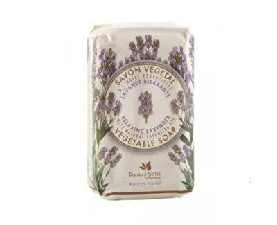 Panier des Sens Jemně mleté mýdlo s esenciálním olejem Levandule (Vegetable Soap) 150 g