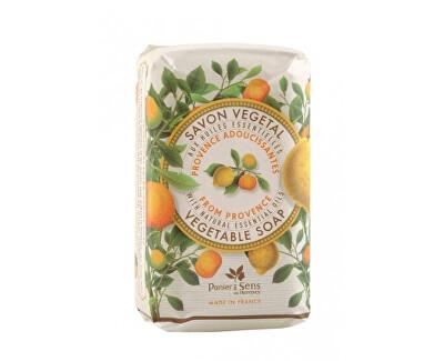 Panier des Sens Jemně mleté mýdlo s levandulovým olejem Provence (Vegetable Soap) 150 g