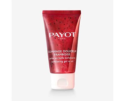 Gel exfoliant delicat corporalcu granule de zmeură(Payot Raspberry Gentle Scrub) 50 ml