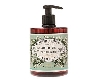 Panier des Sens Tekuté mýdlo Jasmín (Liquid Marseille Soap) 500 ml