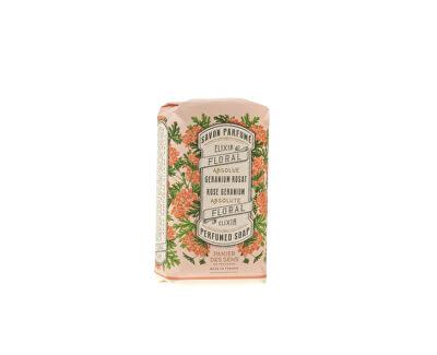 Panier des Sens Třikrát jemně mleté mýdlo Růže a muškát (Perfumed Soap) 150 g