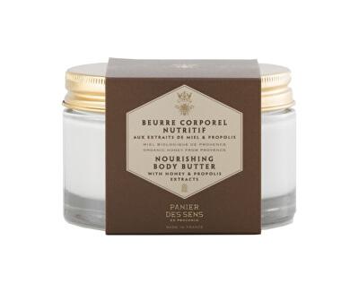 Panier des Sens Výživné tělové máslo se včelí mateří kašičkou (Nourishing Body Butter) 200 ml