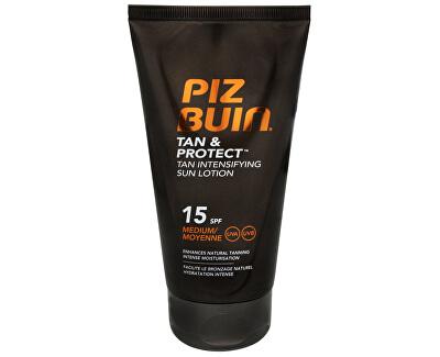 Piz Buin Mléko urychlující proces opalování SPF 15 (Tan & Protect Tan Intensifying Sun Lotion) 150 ml