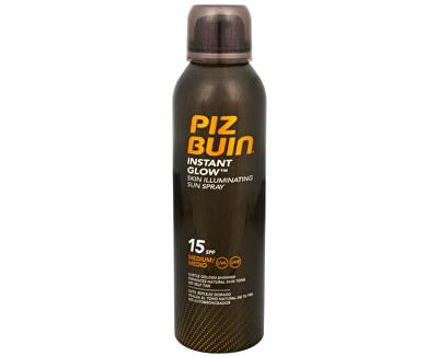 Opalovací sprej pro okamžitě zářivou pleť SPF 15 (Instant Glow Sun Spray) 150 ml