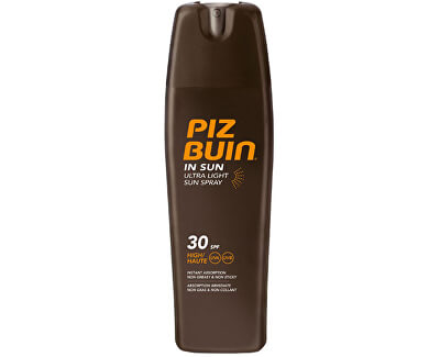 Piz Buin Sprej na opalování SPF 30 (In Sun Ultra Light Sun Spray) 200 ml