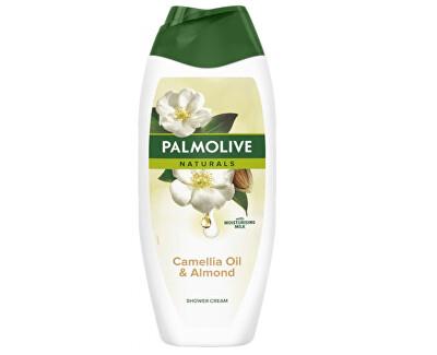 Gel de duș Palmolive Naturals (Camellia Oil & Almond Shower Gel) 500 ml
