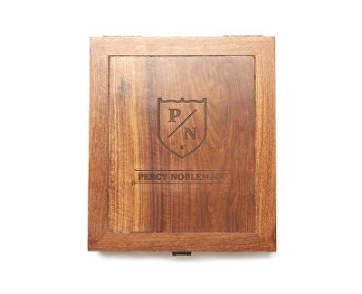 Luxusná darčeková sada starostlivosti o fúzy a fúzy v drevenom boxe