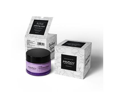 Priody Aktívny bieliace krém s Arbutinom a Dojčiace kyselinou ( Active Whitening Cream) 50 ml