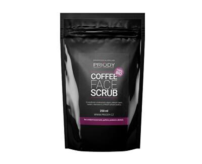 Priody Přírodní kávový peeling na obličej (Coffee Face Scrub) 250 ml
