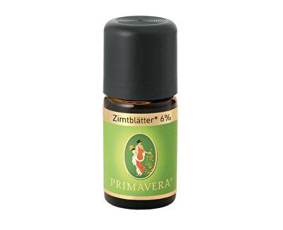 Primavera Přírodní éterický olej Skořice list Bio 6% 5 ml