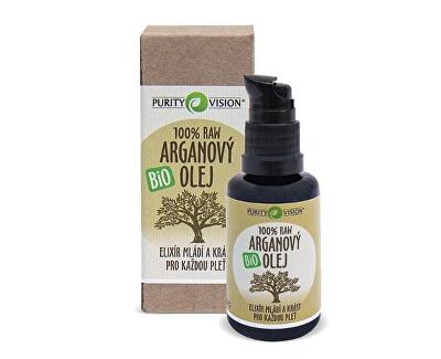 100% Raw Bio Arganový olej 30 ml