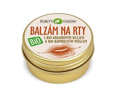 Purity Vision Pečující BIO balzám na rty s BIO arganovým olejem 12 ml