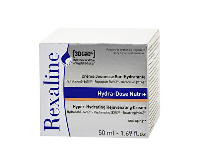 Hydratační pleťový krém pro velmi suchou pleť 3D Hydra-Dose Nutri + 50 ml