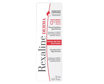 Zklidňující oční krém pro citlivou pleť Derma Eye Contour 15 ml