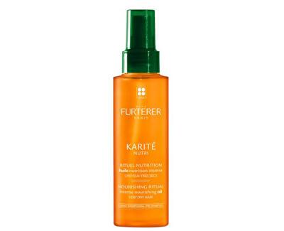 Intenzivně vyživující olejová péče pro velmi suché vlasy Karité Nutri (Intense Nourishing Oil) 100 ml