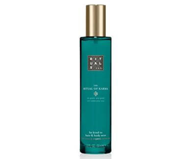Ușoare Spray-ul pentru corp și păr The Ritual Of Karma(Hair & Body Mist) 50 ml