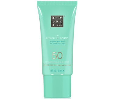 Cremă de piele SPF 50 The Ritual Of Karma (Sun Protection Face Cream SPF 50)