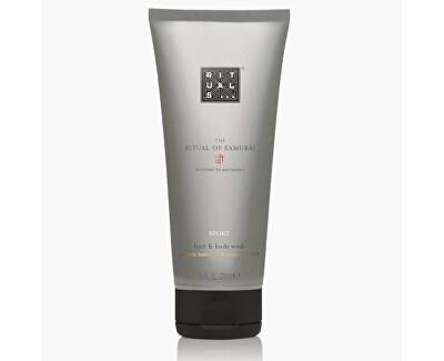 Gel de duș pentru bărbați și șampon 2 în 1 The Ritual Of Samurai({{Hair & Body Wash 200 ml