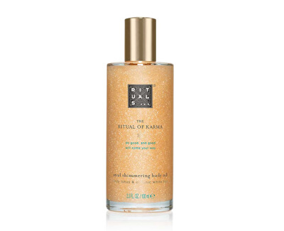 Csillogó olaj The Ritual Of Karma(Shimmering Body Olaj) 100 ml