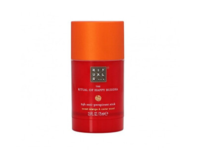 Solid antiperspirant The Ritual of Happy Budha (24H Anti-perspirant Stick) 75 ml