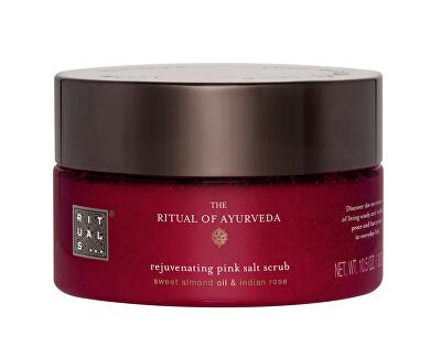 Tělový peeling The Ritual Of Ayurveda (Rejuvenating Pink Salt Scrub) 300 g