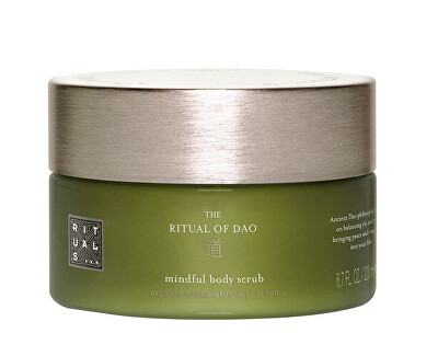 Tělový peeling The Ritual Of Dao (Mindful Body Scrub) 200 ml
