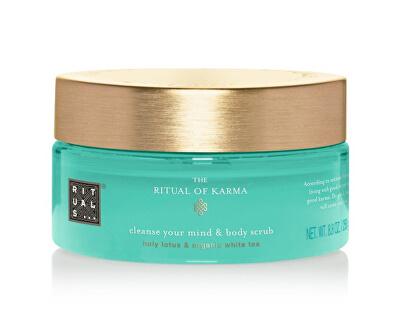 Peelingul corpului  The Ritual Of Karma (Cleanse Your Mind & Body Scrub) 250 g