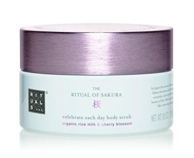 Tělový peeling The Ritual Of Sakura (Celebrate Each Day Body Scrub) 250 g