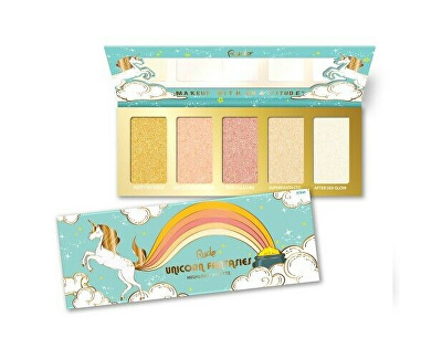 Paletka 5 rozjasňovačů Unicorn Fantasies (Highlight Palette) 21 g
