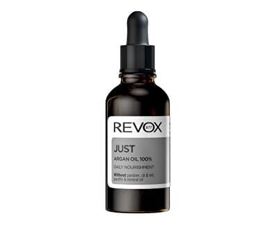 100% přírodní arganový olej Just (Daily Nourishment) 30 ml