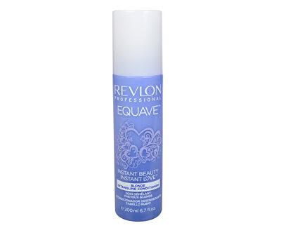 Dvoufázový kondicionér pro blonďaté vlasy Equave Instant Beauty (Blonde Detangling Conditioner) 200 ml