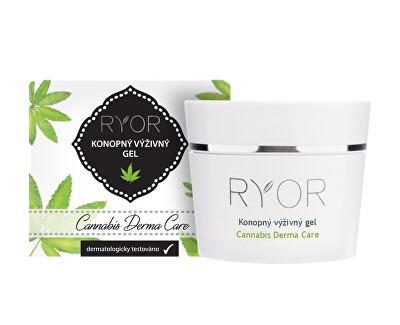 Konopný výživný gel 1 % Cannabis Derma Care 50 ml